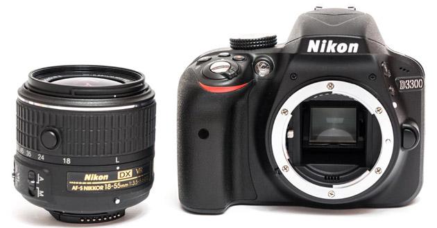 Nikon d3300 без объектива