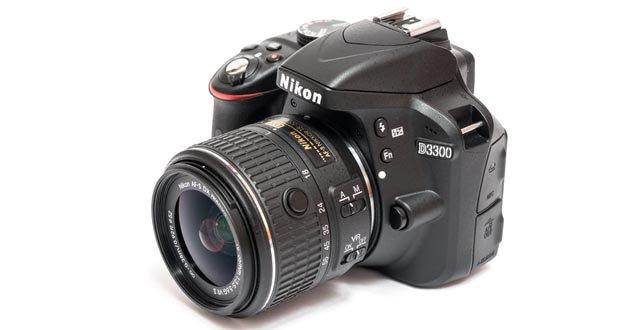 Nikon d3300 вид с фронта