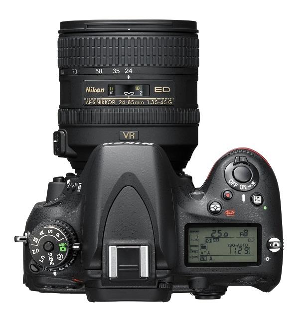 Nikon D 610 вид сверху