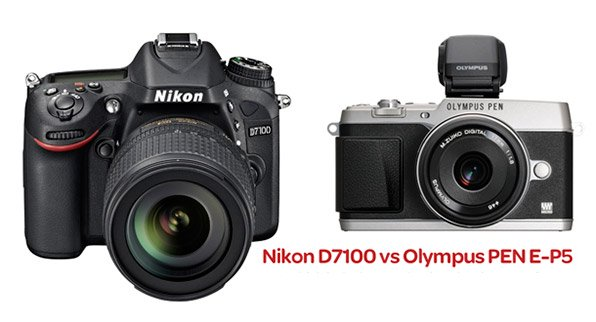 Nikon D 7100 vs Olympus PEN E-P5