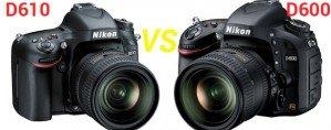 Nikon D 610 vs Nikon D 600