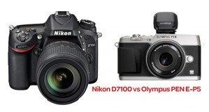 Nikon D 7100 vs Olympus PEN E-P5: что выбрать продвинутому любителю?